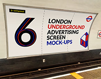 London Underground Ad Screen Mock-Ups 4