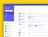 Mymail design concept