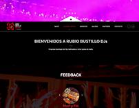Rubio Bustillo DJs Diseño web