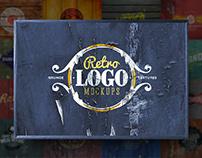 Retro Logo Mockups