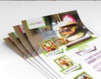 A4 Size Food Flyer