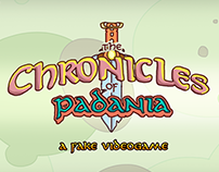 The Chronicles of Padania - a fake videogame
