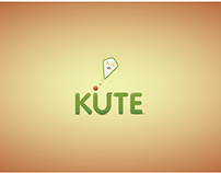 Logo for a Fictional Company Kute Kite
