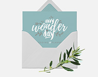 My Wonder Day