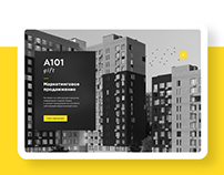 A101 Gift | B2B Partnership program landing page
