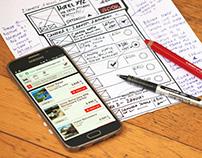 Product design for TravelMesh, a travel startup