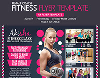 Sexy Fitness Flyer Template