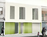 Infografías de dos viviendas en Albatera
