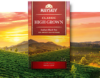 MAISKY TEA. Packaging design.
