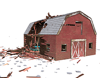 Barn Destruction