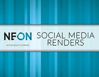Neon Social Media Renders