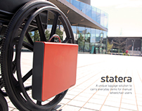 STATERA / Luggage solution for wheelchair users