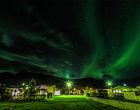Green Nights in Vik - Iceland 2017