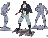 Rockabilly Batman - collectibles samples