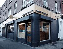Dublin Print Co shop fitout