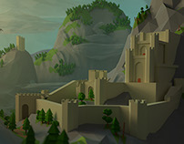 Low-Poly Kaer Morhen