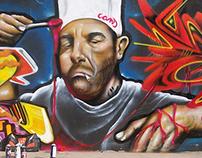 Realismo Dcans (Tecnica Graffiti)