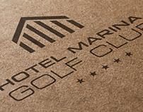 hotel marina / logo