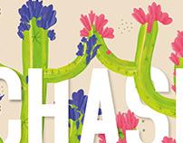 Chasing Cacti / Take Action Poster