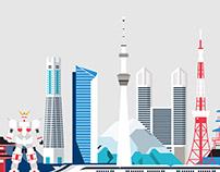 Enterprise Ireland - Countries illustrations