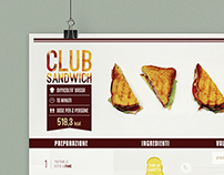 Visualize food - CLUB SANDWICH
