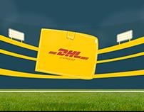 DHL Delivering Tries