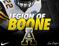 App State - Legion of Boone, Clifton Duck