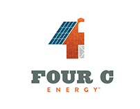 Four C Energy™ – Logo & Stationery Design