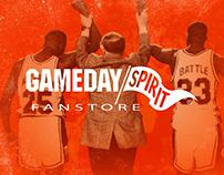 Gameday Spirit New Website Design