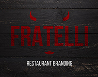 Fratelli restaurant branding