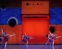 Scenography for Atlanta Ballet, USA