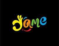 Логотип для торговой марки yame