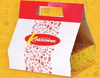 Embalagem e Cardápio - Kalzone
