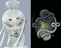 the neverending story, sketches