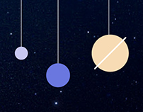 Solar System One-page website