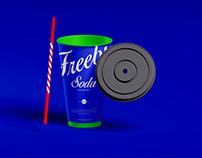 Free Soda Cup Mockup