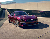 Ford Mustang GT Vossen (CGI)
