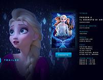 Test Cinema site /Desktop mockup