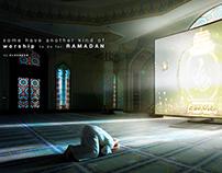 Ramadan TV addiction