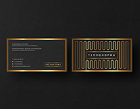 """Business card for """"Teplonorma"""""""