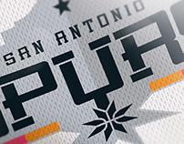 NBA Logo Redesign - San Antonio Spurs
