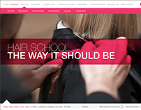 Aveda Institute Website