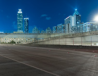 City Night - Backplate & HDRI