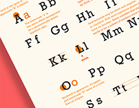 Type Classifications Posters