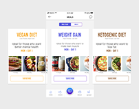 Fitness Tracking with healthy Meals Ordering