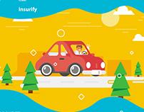 Explainer video for startup insurify