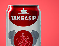 Take a Sip Product Hero Shots