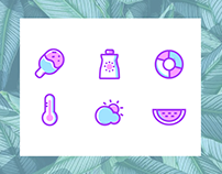 #Daily UI#Day 2 for summer memories