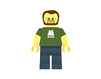 Lego man (personal project)
