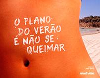 Campanha de verão Unetvale
